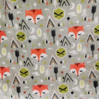 Doudou renard orange 1