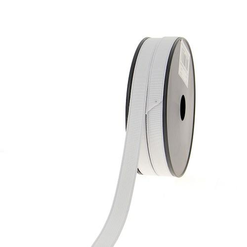 Elastique cotele 15mm blanc