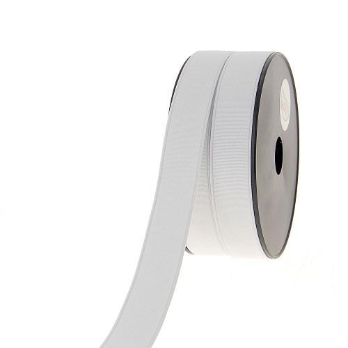 Elastique cotele 25mm blanc