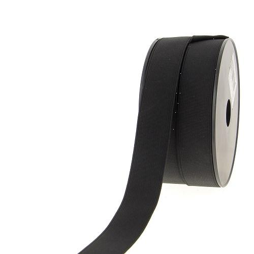 Elastique cotele 25mm noir