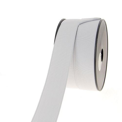 Elastique cotele 35mm blanc