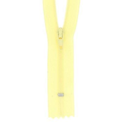 Fermeture a glissiere jaune 100