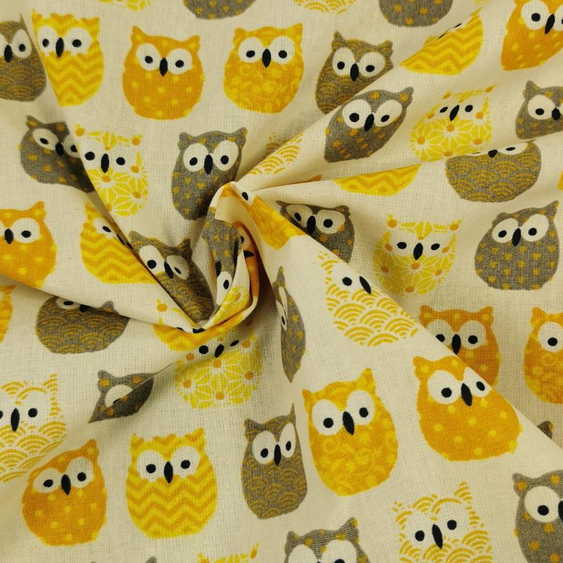 Hiboux jaune 3
