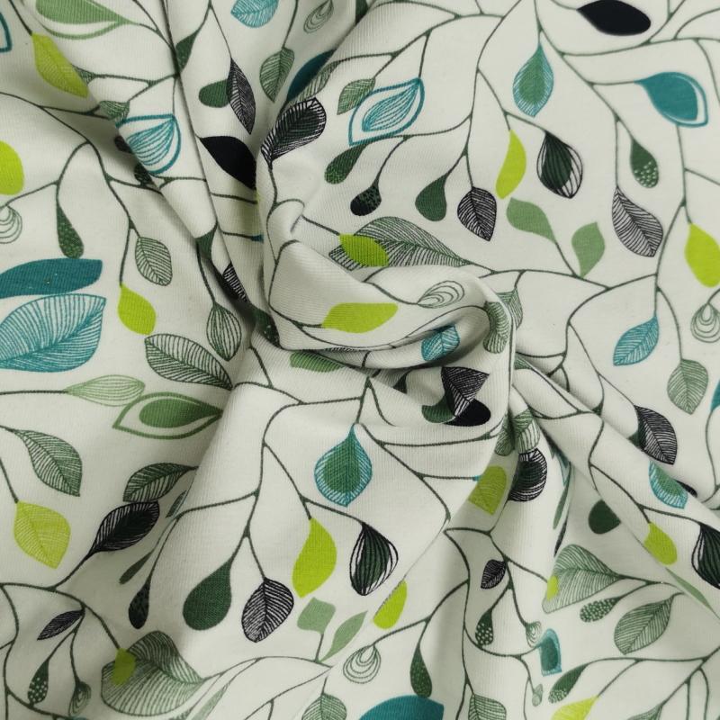 Jersey feuilles vertes 2