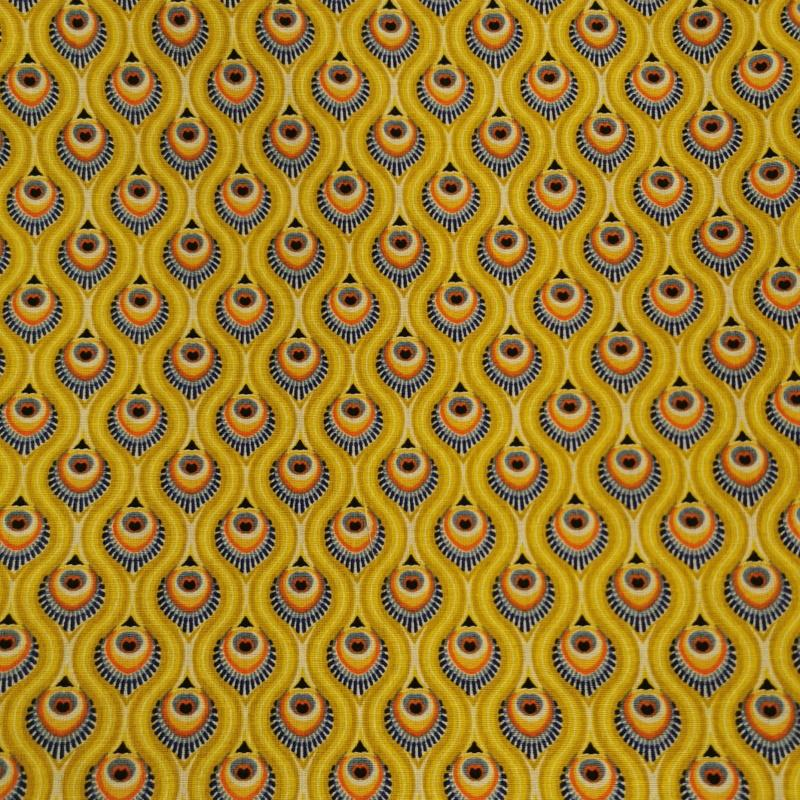 Peacock jaune