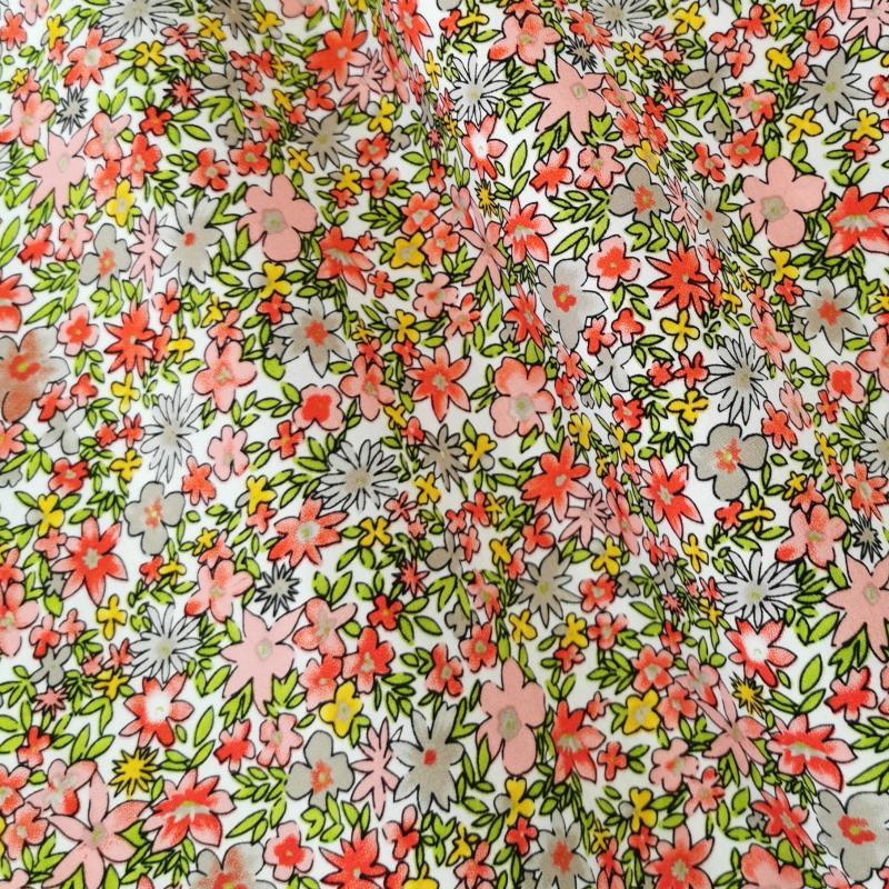 Petites fleurs liberty rouge 2