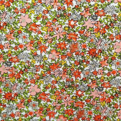 Petites fleurs liberty rouge