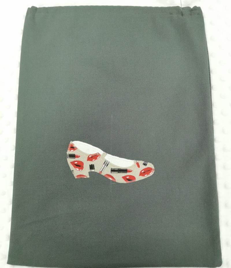Sac chaussure escarpin lipstick