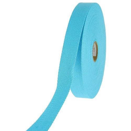 Sangle coton bleue