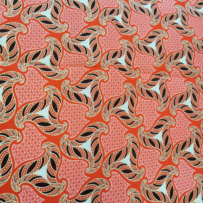 Tissu wax triangulo